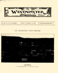 Westminster Budget, November 24, 1899, Page 3