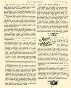 Wheelwoman and Society Cycling News, March 06, 1897, Page 14