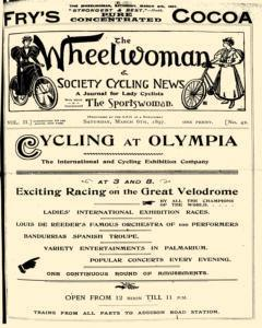 Wheelwoman And Society Cycling News, March 06, 1897, Page 1