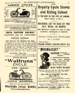 Wheelwoman and Society Cycling News, March 06, 1897, Page 3