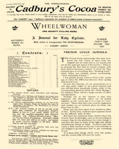 Wheelwoman and Society Cycling News, March 06, 1897, Page 5