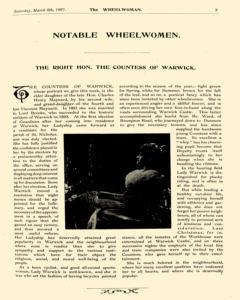 Wheelwoman and Society Cycling News, March 06, 1897, Page 7