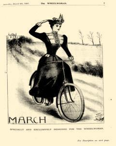 Wheelwoman and Society Cycling News, March 06, 1897, Page 9