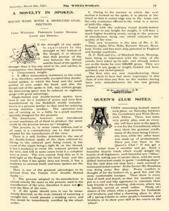 Wheelwoman and Society Cycling News, March 06, 1897, Page 23