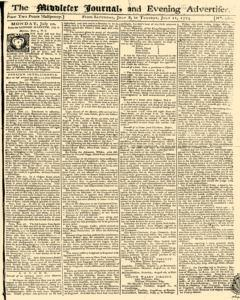 Middlesex Journal And Evening Advertiser, July 08, 1775, Page 1