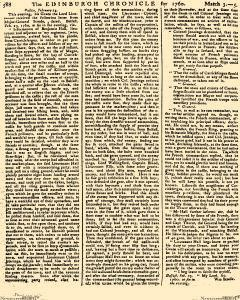 Edinburgh Chronicle, March 03, 1760, Page 7