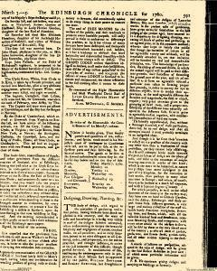Edinburgh Chronicle, March 03, 1760, Page 13