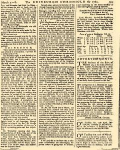 Edinburgh Chronicle, March 05, 1760, Page 13