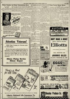 Athens Alabama Courier, March 14, 1946, Page 3