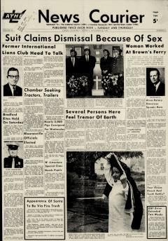 Athens News Courier, November 12, 1968, Page 1