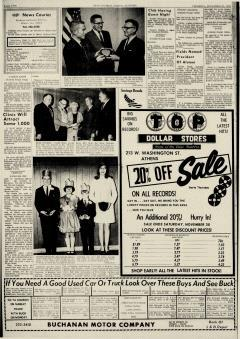 Athens News Courier, November 21, 1968, Page 2