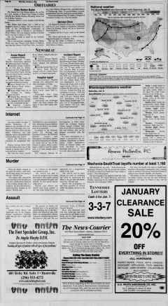 Athens News Courier, January 07, 2005, Page 33