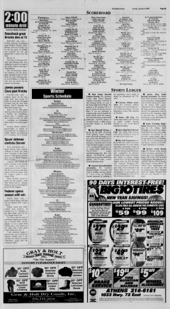 Athens News Courier, January 09, 2005, Page 29