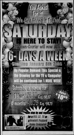 Athens News Courier, January 12, 2005, Page 20