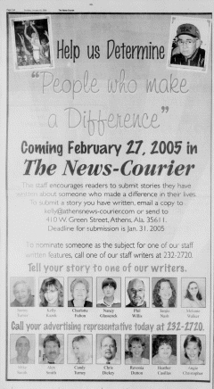 Athens News Courier, January 16, 2005, Page 27
