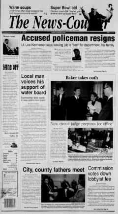 Athens News Courier, January 19, 2005, Page 1