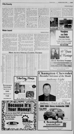 Athens News Courier, January 19, 2005, Page 5