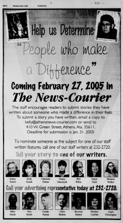 Athens News Courier, January 19, 2005, Page 12