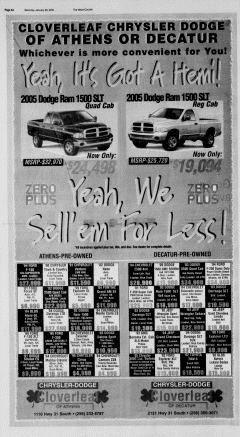 Athens News Courier, January 22, 2005, Page 15