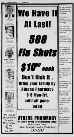 Athens News Courier, January 26, 2005, Page 19