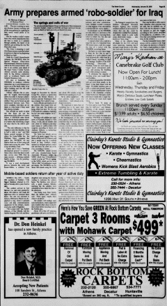 Athens News Courier, January 26, 2005, Page 18