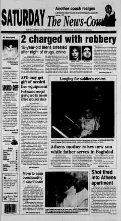 Athens News Courier, January 29, 2005, p. 2