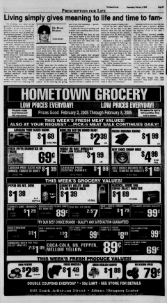 Athens News Courier, February 02, 2005, Page 50