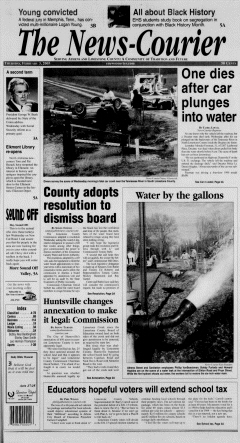 Athens News Courier, February 03, 2005, Page 1