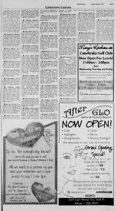 Athens News Courier, February 03, 2005, Page 13