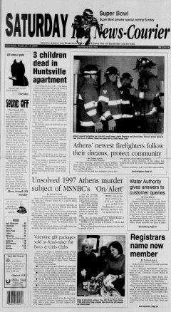 Athens News Courier, February 05, 2005, Page 1