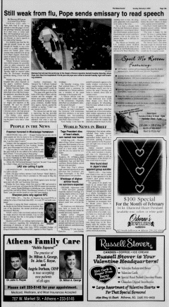Athens News Courier, February 06, 2005, Page 29