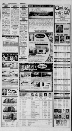 Athens News Courier, February 06, 2005, Page 63