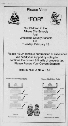 Athens News Courier, February 13, 2005, Page 27