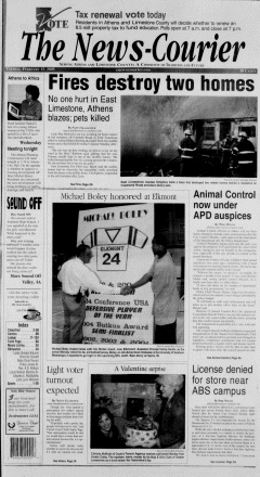 Athens News Courier, February 15, 2005, Page 1