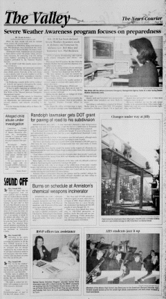 Athens News Courier, February 15, 2005, Page 9
