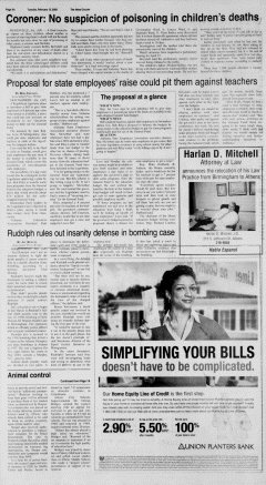Athens News Courier, February 15, 2005, Page 15