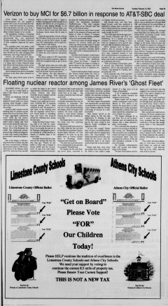 Athens News Courier, February 15, 2005, Page 17