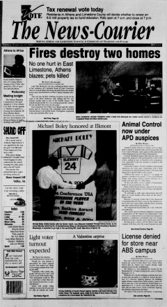 Athens News Courier, February 15, 2005, Page 2