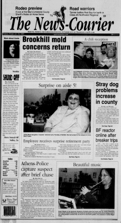Athens News Courier, February 18, 2005, Page 1
