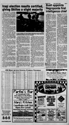 Athens News Courier, February 18, 2005, Page 6