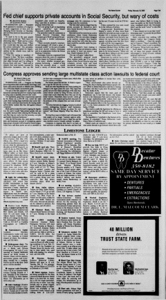 Athens News Courier, February 18, 2005, Page 26