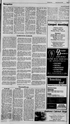 Athens News Courier, February 20, 2005, Page 33