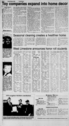 Athens News Courier, February 20, 2005, Page 56
