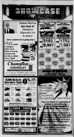 Athens News Courier, February 26, 2005, Page 32