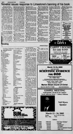 Athens News Courier, March 09, 2005, p. 12