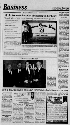Athens News Courier, March 10, 2005, p. 21