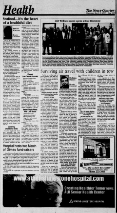 Athens News Courier, March 16, 2005, Page 20