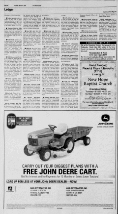 Athens News Courier, March 17, 2005, Page 15