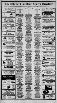 Athens News Courier, March 25, 2005, p. 20
