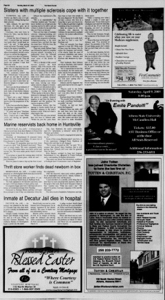 Athens News Courier, March 27, 2005, Page 15